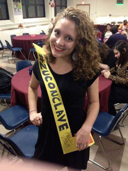 Hannah at Conclave!