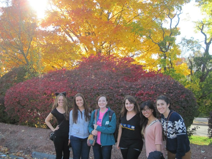 """APO volunteers at the zoo's """"Boo at the Zoo"""" event."""