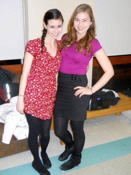 Sarah and Erica!
