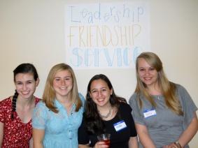 Leadership, Friendship, Service